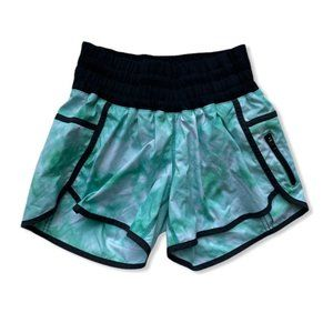 Lululemon Tracker Running Shorts Spray Dye Tropics